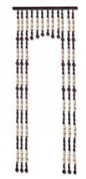 Korálkový závìs s prùchodem 80cm - olše