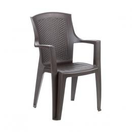 Plastová židle Eden - ratan efekt