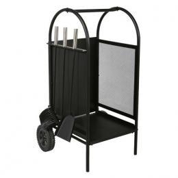 koš krbový/vozík s náøadím v.80cm, ocel sada 3 díly