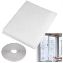 Okenní sí� bílá 130x150 s lepící páskou 5,6m