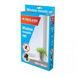 BRILANZ Sí� do okna 150 x 130 cm s páskou 5,6 m