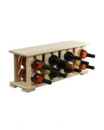 Regál na víno 4-8x2 BOROVICE