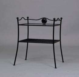 Kovová noèní stolek Jakub - DOPRAVA ZDARMA