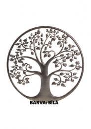 Strom života - dekorace bílá barva - DOPRAVA ZDARMA