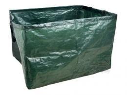 Koš na listí 100x100x100 - 1000l zelený