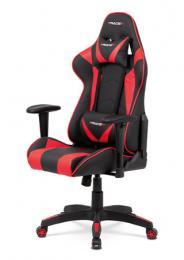 Kanceláøská židle houpací mech - KA-F03 RED