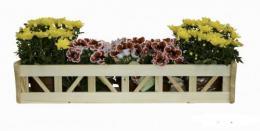 Døevìný dekorativní truhlík