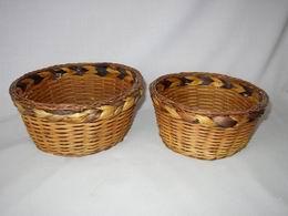 Košík prùplet vodní hyacint 2 kusy