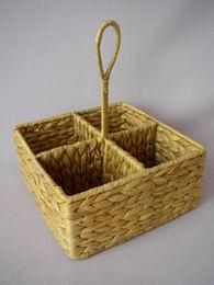 Košík dìlený vodní hyacint