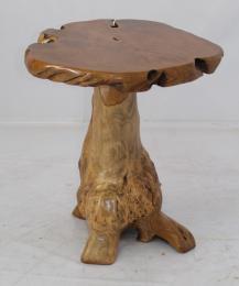 HØÍBEK 75x60x70cm - stolek z teaku