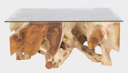 BRANCH 100x100x45cm stolek z teaku