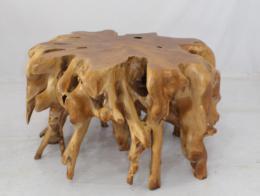 BRANCH 110x110x60cm stolek z teaku