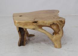 BERT 70x62x38cm - stolek z teaku