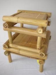 Bambusová stolièka set 2 ks