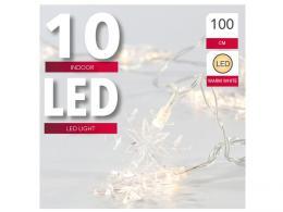 ØETÌZ 10 SNÌHOVÝCH VLOÈEK, LED