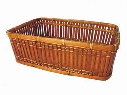 Košík bambusový L