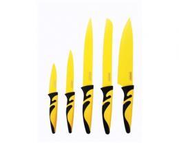 BANQUET 5 dílná sada nožù s nepøilnavým povrchem, SYMBIO NEW Giallo