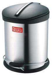 Nerezový odpadkový koš 5L Toro  - DOPRAVA ZDARMA