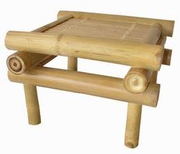 Bambusová stolièka