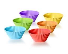 6d sada silikonových košíèkù na peèení, Culinaria