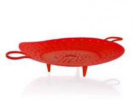 BANQUET Silikonový paøák prùmìr 21,5x5cm silicon 129,5g CULINARIA red