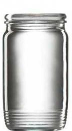 Sklenice zavaøovací, 10 ks, 370 ml