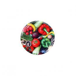 Víèko na zavaøovací sklenice 10ks, 66mm, motiv zelenina