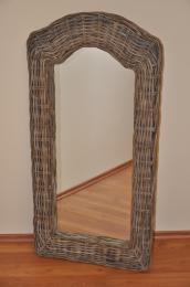 Zrcadlo vysoké ratan kubu