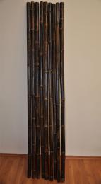 Bambusová tyè 4-4,5 cm, délka 2 metry, bambus black