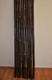 Bambusová tyè 5-6 cm, délka 4 metry, bambus black