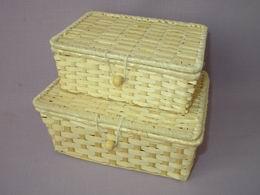 Set bambusových truhlièek