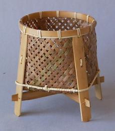 Bambusový košík støední