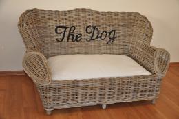 Pohovka pro psa ratan kubu velká - DOPRAVA ZDARMA - zvìtšit obrázek