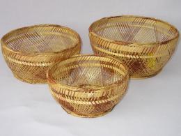 Bambusová miska set 3 kusy