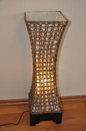 Lampa ratanová støední vèetnì LED žárovky