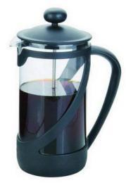 Konvice na èaj 850ml s filtraèním pístem a plastovým víèkem