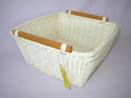 Ratanový košík- varianta bílá - zvìtšit obrázek