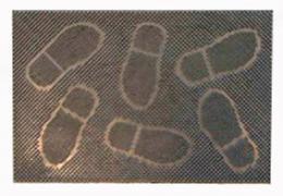 Rohož guma tráva 40x60 šlápoty