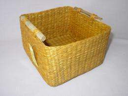 Košík moøská tráva žlutý