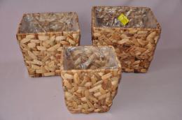 Kvìtník vodní hyacint set 3 kusy