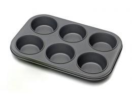 Forma na muffiny,  6 ks výplnì,  18 x 26 x 3, 4 cm