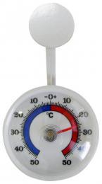 Venkovní teplomìr samolepící, od - 50 °C do + 50 °C, 7,1 x 2 cm