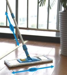 Mop na podlahu s násadou 140 cm