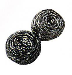 Drátìnka kovová 2 ks,  5,5 x 2,6 cm