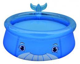 Dìtský nafukovací bazén 175x62cm velryba