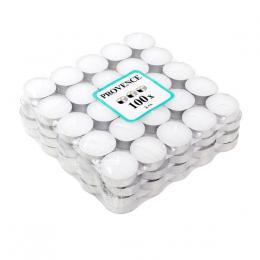 Èajová svíèka 100 ks bílá,   4 x 1, 4 cm