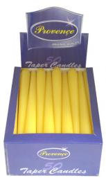 Svíèka kónická žlutá, 24,5cm
