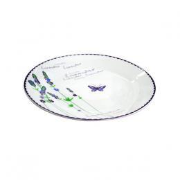 talíø jídelní,keramika-p,motiv levandule,27x2,5cm