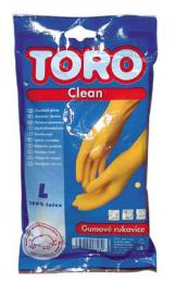 gumové rukavice TORO,  velikost L