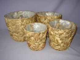Kvìtník vodní hyacint kulatý set 4 ks